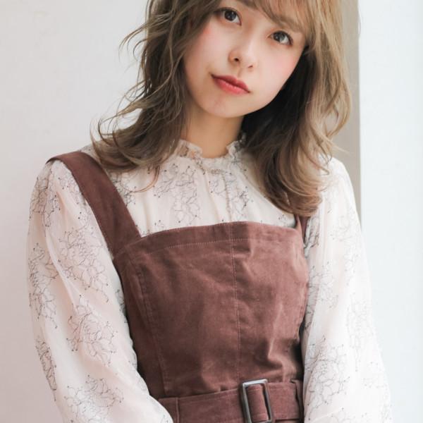 【♪ゆるふわセミロング】定番かわいい小顔スタイル