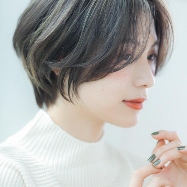 【◆ショートヘア】横顔美人でエレガントボブ
