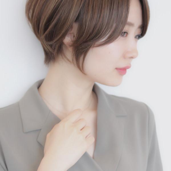 【◆丸みショート】まとまりのある大人綺麗なスタイル