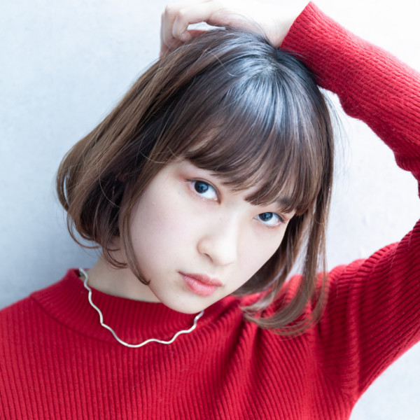 【◎ショートボブ】大人かわいい前髪ショートスタイル