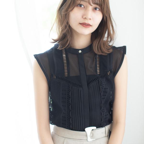 【◎セミロング】大人かわいい女性らしいスタイル
